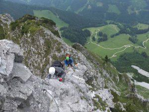 Klettersteig Buchstein