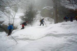 Schneeschuhtour Gr. Rachel